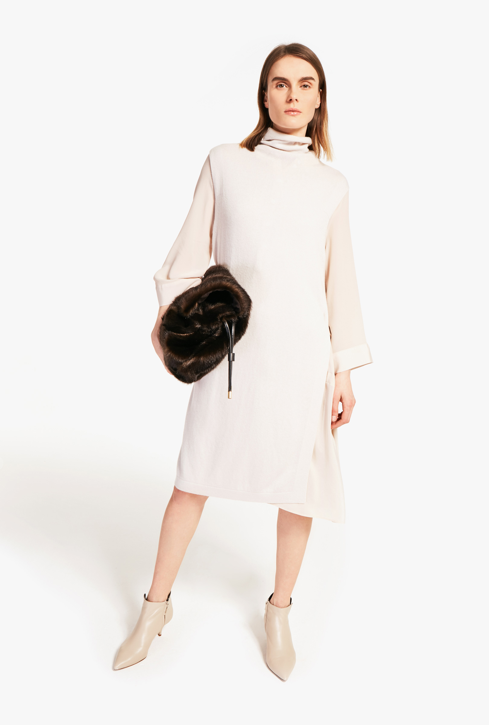 Wool and cashmere dress-gilet