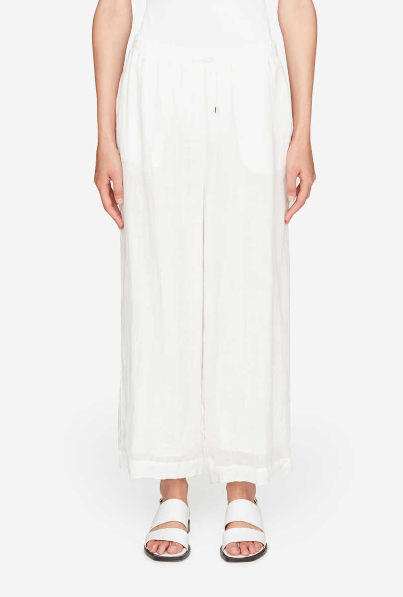 Ramie cotton trousers