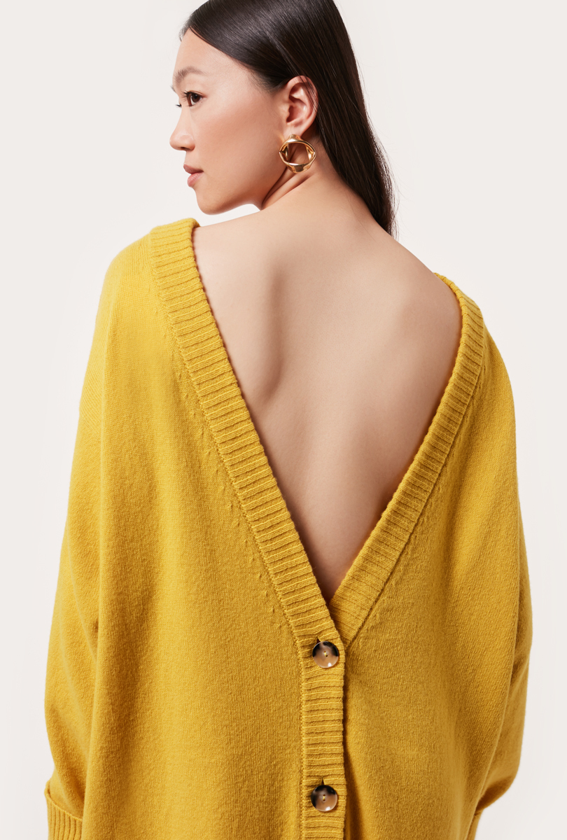 cardigan front-back